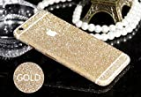 Furivy Luxury Bling Crystal Diamond Screen Protector Film Sticker for Iphone 6 Plus 5.5 (Gold)