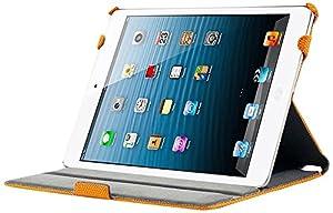 KHOMO ® Funda Naranja Antideslizante Piel (PU) Texturizada Estilo 3D con Soporte y Correa de Mano para Nuevo Apple iPad 5 Air (2013)  Electrónica Comentarios y más información
