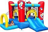 Bubble 4-1 Play Center - MODEL 9214-BY DUPLAY THE NO.1 SUPPLIER OF BOUNCY CASTLES TO THE UK HOME MARKET - FROM OUR 2011 OUTDOOR PLAY RANGE - SALE NOW ON JUST IN TIME FOR SUMMER.