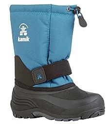 Kamik Rocket Snow Boot (Toddler/Little Kid/Big Kid), Ink Blue, 12 M US Little Kid
