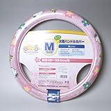ハンドルカバー スヌーピーフラワー Mサイズ ピンク