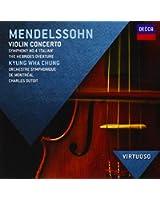 Concerto Pour Violon, Symphonie N°4, Ouverture Hébrides