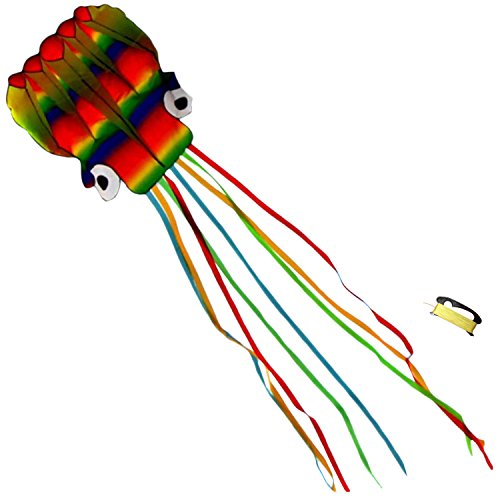huge-5-meter-rainbow-octopus-kite-no-assembly-frameless-body-with-long-4-meter-flowing-tails-backyar