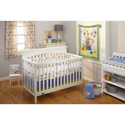 Disney Baby Dumbo Secure-Me Crib LIner - 1