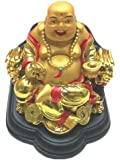 A Chinese Feng Shui Money Buddha on a Dragon Chain for Good Fortune