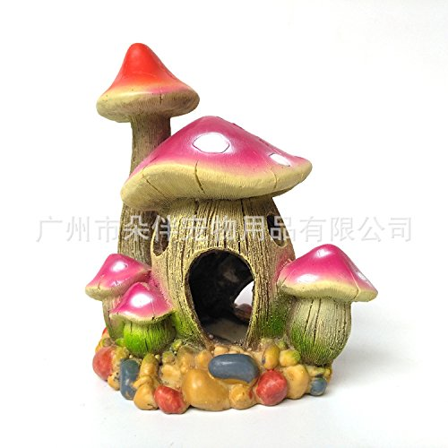 zpp-la-resine-de-lartisanat-mushroom-chambre-pet-les-poissons-daquarium-aquarium-reservoir-landscapi