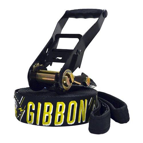 Gibbon, Set Slackline Jib X13, Nero (gibbon schwarz)