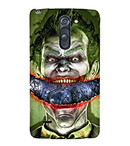 Vizagbeats Shouting Batman Back Case Cover for LG G3 Stylus::LG G3 Stylus D690N::LG G3 Stylus D690