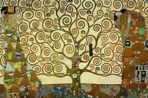 グスタフ クリムト 生命の樹 アートポスター