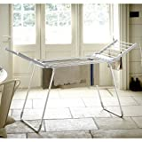 Lakeland Dry-Soon Winged Heated Clothes & Towel Indoor Airer (Under 3p / Hour!)