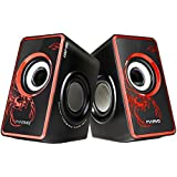 Marvo SG-201 USB 2.0 Powered Multimedia Computer Speakers With Surround Subwoofer Heavy Bass For PC/Laptops/Computer...
