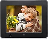 Nixplay Original 8 Inch WiFi Cloud Digital Photo Frame. iPhone & Android App, Email, Facebook, Dropbox, Instagram, Picasa (W08A)
