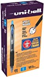 uni-ball 207 Needle Retractable Medium Point Gel Pens, 12 Blue Ink Pens