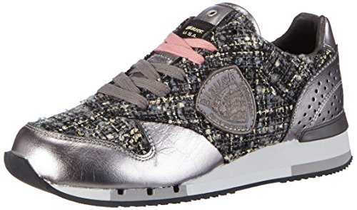 Blauer USAWORUNORI - Sneaker donna , Multicolore (Mehrfarbig (LAMINATED PINK)), 40