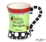 Mothers Are a Gift From Above Message James 1:17 Ladybug Coffee Mug Cup Gift Mom