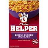 Chicken Helper, Cheesy Chicken Enchilada, 9.2-Ounce Boxes (Pack of 12) ~ Betty Crocker Dry Meals