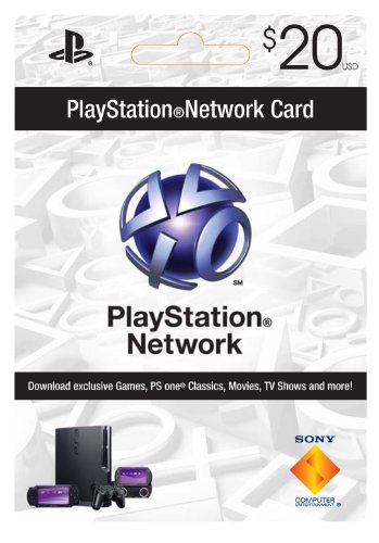 Sony Playstation Network Card - $20 [Online Game Code]