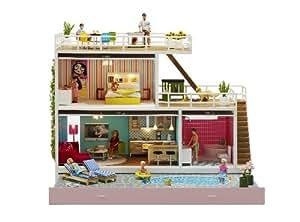Lundby l609030 maison de poup e maison stockholm - Maison de poupee lundby ...