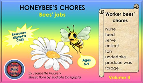 Children's book: HONEYBEE'S CHORES VOLUME 4:Bedtime story-educational - early readers-values book--Rhymes-read along-series-Animal habitats-Animals stories: ... picture - information (Honeybee Series) PDF