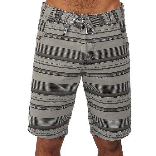 Bench - Shorts Ben Piece Out, Pantaloncini sportivi Uomo, Grigio (Monument), W30 (Taglia Produttore: 30)