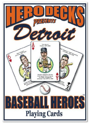 Hero Decks - Detroit Tigers - Playing Cards
