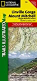 National Geographic Maps Linville Gorge/Mount Mitchell, Pisgah National Forest Trails Illustrated Other Rec. Areas (Trails Illustrated Maps)