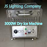 1PC Eough 3000W Dry Ice Machine for Stage Making Fog Machine Packed with Wood Carton