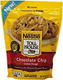 Nestle Toll House Frozen Chocolate Chip Cookie Dough, Resealable Bag, 18 oz (frozen)