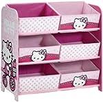 Hello Kitty 6 Bin Storage