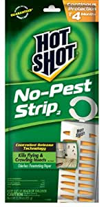 Hot Shot 5580 No Pest Strip Unscented Hanging Vapor Insect Repellent