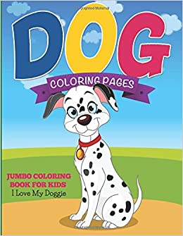 Dog Coloring Pages Jumbo Coloring Book For Kids