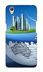 ZAPCASE PRINTED BACK COVER FOR OPPO A37 Multicolor
