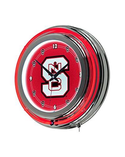 Trademark Global North Carolina State Neon Clock