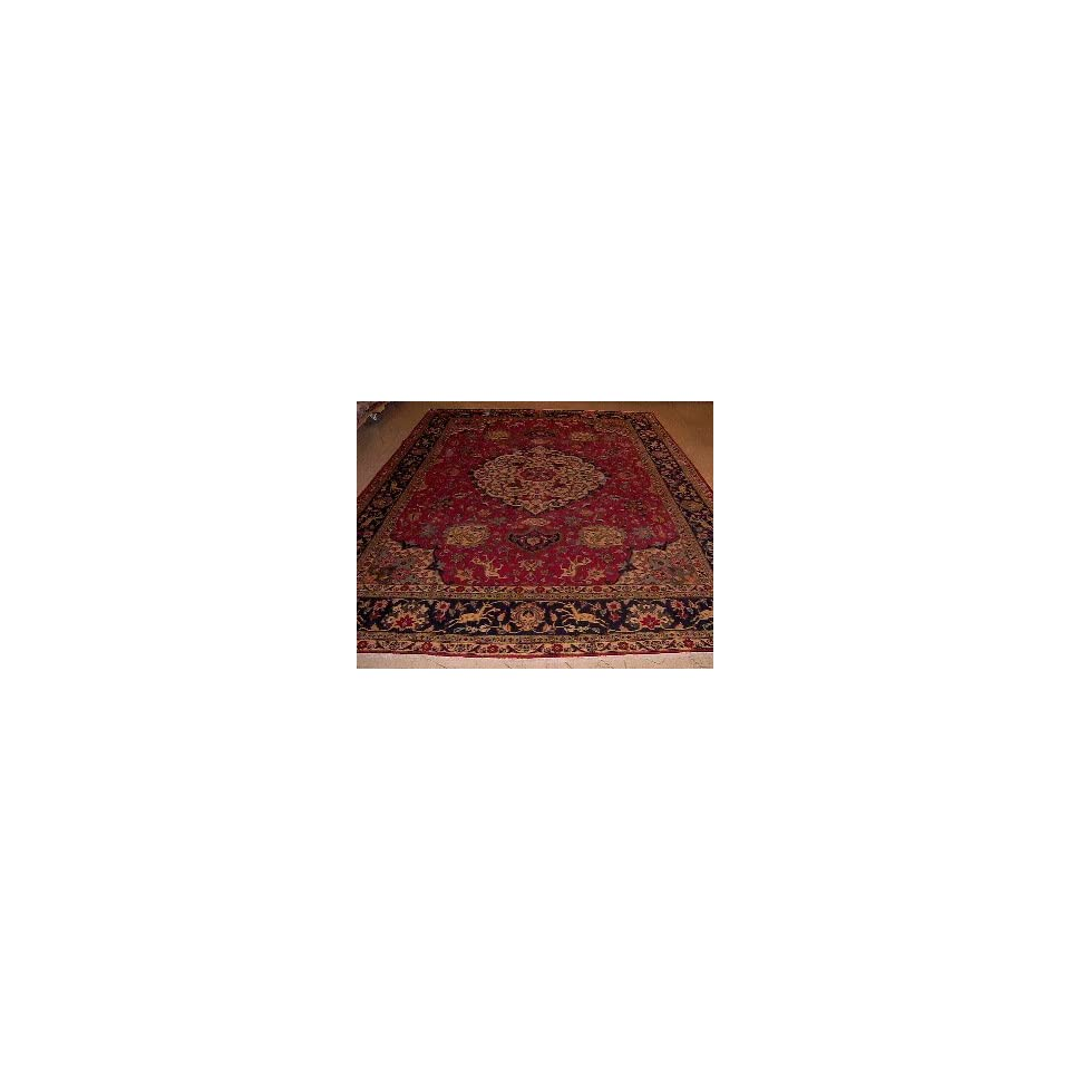 8x11 Hand Knotted tabriz Persian Rug   111x82