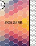 Hexagonal Graph Paper: Hexagon Notebook Paper: 100 Pages, 8 5