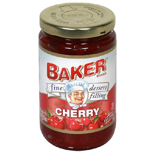 Buy Baker Fine Dessert Filling, Cherry, 10-Ounce Jars (Pack of 8) (Bakers, Health & Personal Care, Products, Food & Snacks, Baking Supplies, Pie & Cobbler Fillings)