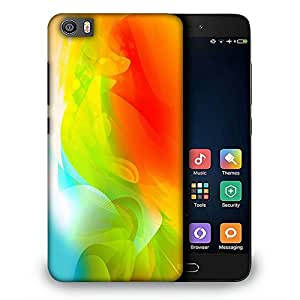 Snoogg Abstractr Multicolor Pattern Designer Protective Back Case Cover For REDMI 5