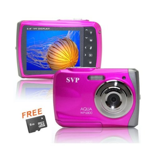 18MP Pink WP6800 (Micro 8GB) 2.4