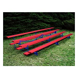 Jaypro Sports Blch-421alpc 4 Row 21 Ft Aluminum Powder Coated by Jaypro Sports