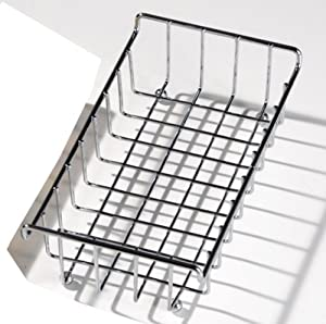 Chrome napkin holder storage basket rack for Bathroom napkin holder