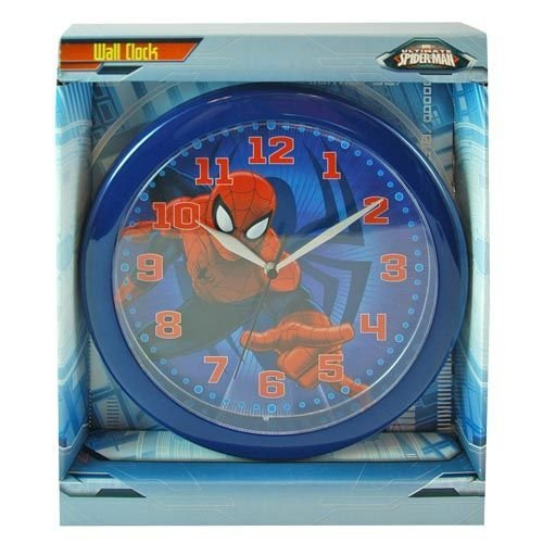Spiderman Wall Clock Marvel Ultimate Spiderman Wall Clock