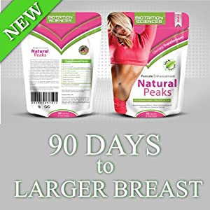 Natural Peaks Breast Enhancement - Boost Your Cup Size Naturally - No Surgery -The Most Comprehensive Formula to Date - 2 Capsules Per Serving, 60 Capsules, 30 Servings Per Pack