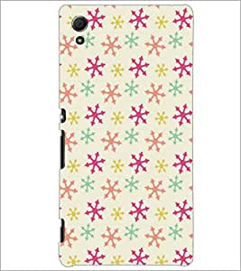 PrintDhaba Pattern D-5263 Back Case Cover for SONY XPERIA Z4 (Multi-Coloured)