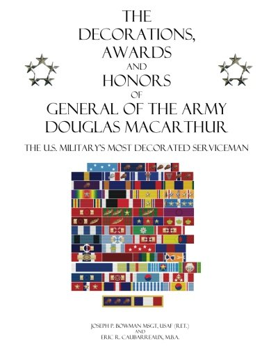 the decorations awards and honors of general of the army
