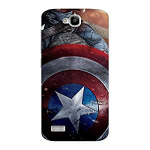 Round Multicolor Shi Back Case Cover for Honor Holly