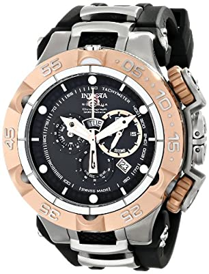 Invicta Men's 12880 Subaqua Analog Display Swiss Quartz Black Watch