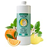 Easy Air Organic 32-oz. Allergy Relief Spray Refill, Natural Dust Mite Allergy Medicine and Pet Allergen Spray, 100% Organic Indoor Allergy Treatment, Fragrance Free Spray for Allergies