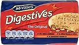 McVities Digestive Original (英国製 マクビティ・ダイジェスティブビスケット) 400g x 3ケ 【並行輸入品】【海外直送品】