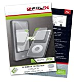 atFoliX Lámina protectora de pantalla FX-Mirror para Canon Legria (Vixia) HF G10 - Protector de pantalla con efecto espejo.