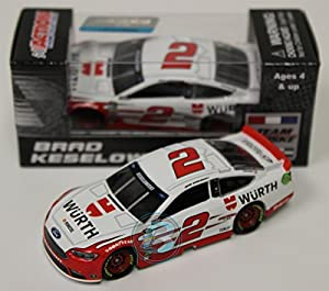 Lionel Racing CX26865WUBW Brad Keselowski #2 Wurth 2016 Ford Fusion ARC HT NASCAR Official Diecast Vehicle (1:64 Scale)